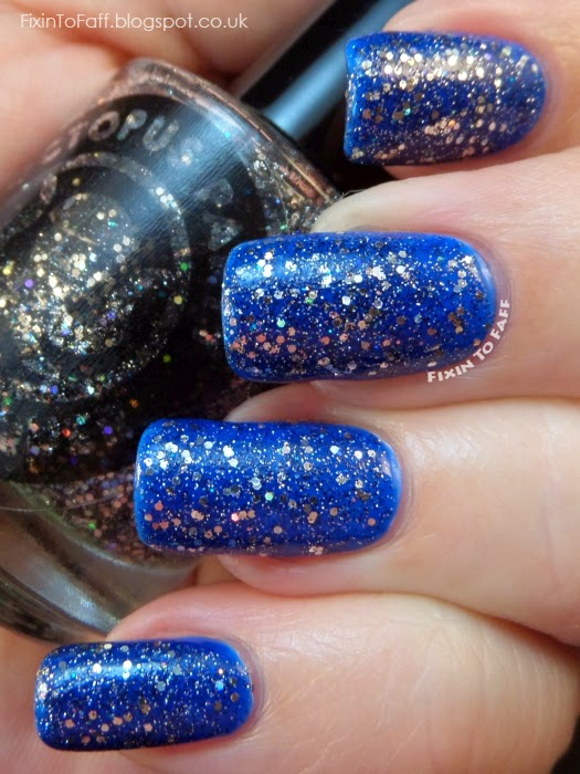 Octopus Party Nail Lacquer Star Tar swatch