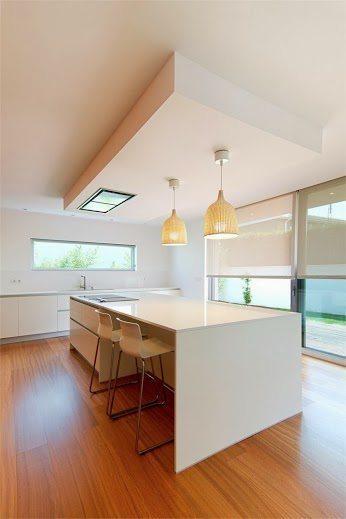Cocinas minimalistas decorar una cocina minimalista en blanco for Cocinas minimalistas 2016