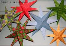 Näin askartelet helpon paperisen joulutähden
