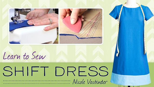 Learn to sew a shift dress