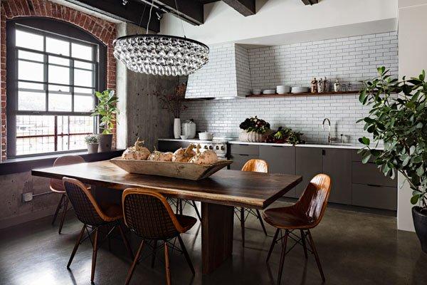 Mesas superiores de cuero vintage