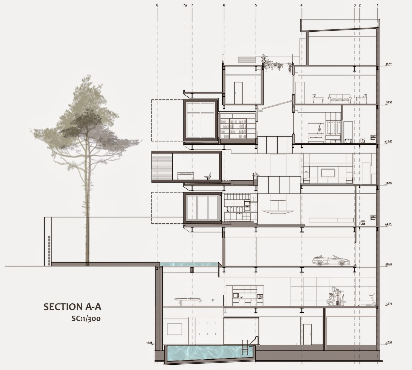 05-Section-Nextoffice-Sharifi-Ha-House-Revolving-Rooms-Architecture-www-designstack-co