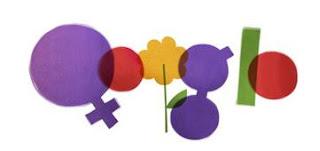 Google Doodles - Hari Perempuan Sedunia