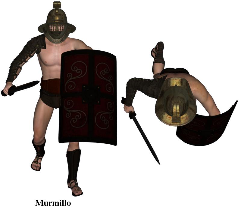 Gladiator Types Murmillo Are as Murmillo Gladiator