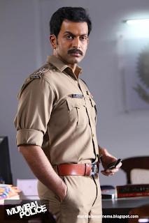 Prithviraj in Mumbai Police stills