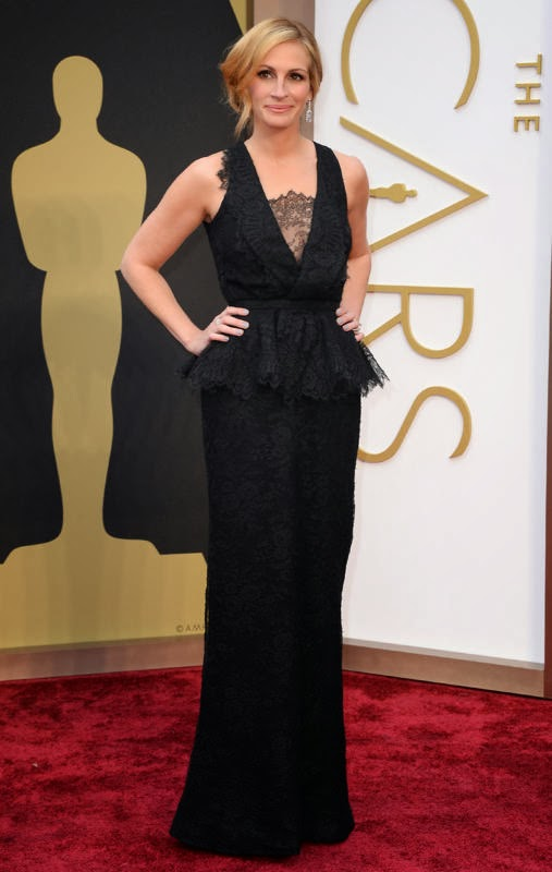 Oscars 2014 Red Carpet, Julia Roberts