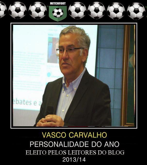 PERSONALIDADE DO FUTEBOL DE MATOSINHOS ÉPOCA 2013/ 2014
