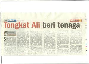 Tongkat Ali Nu-Prep 100. Metro Ahad 2011