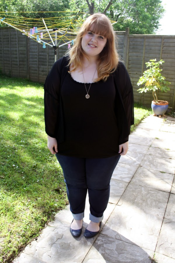 ginger ombre, ginger dip-dye, fashion and beauty blog, Plus size fashion blog, plus size fashion