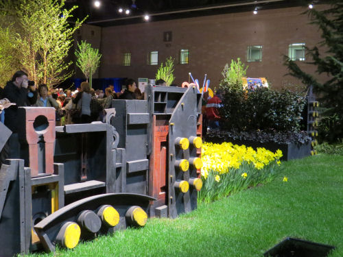 Philadelphia Flower Show 2013 London Industrial