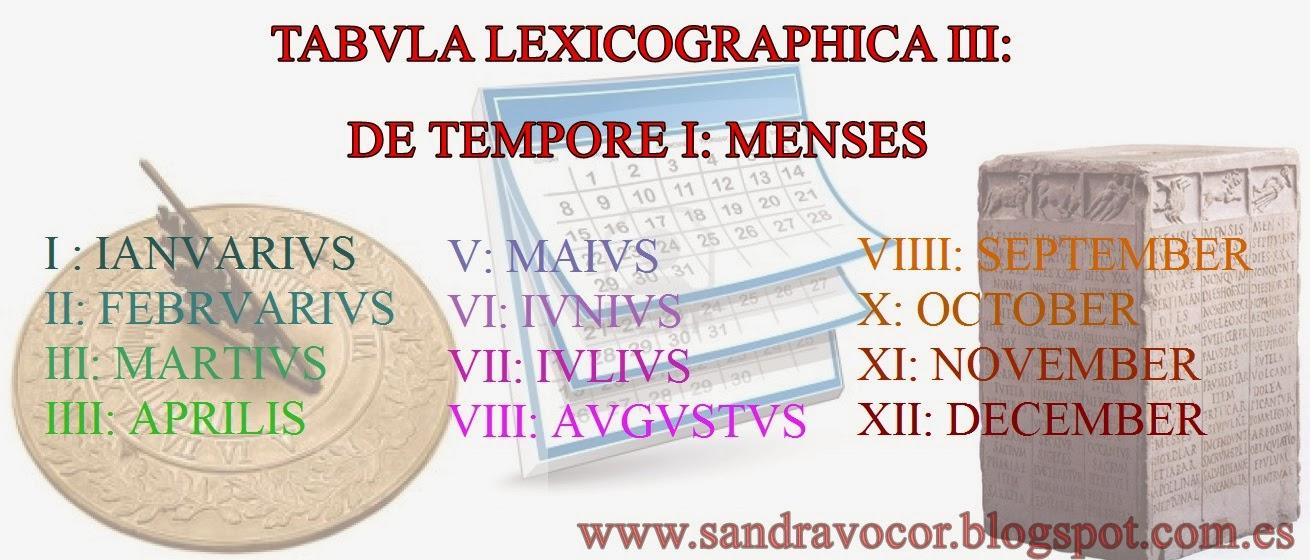 TABVLA LEXICOGRAPHICA III
