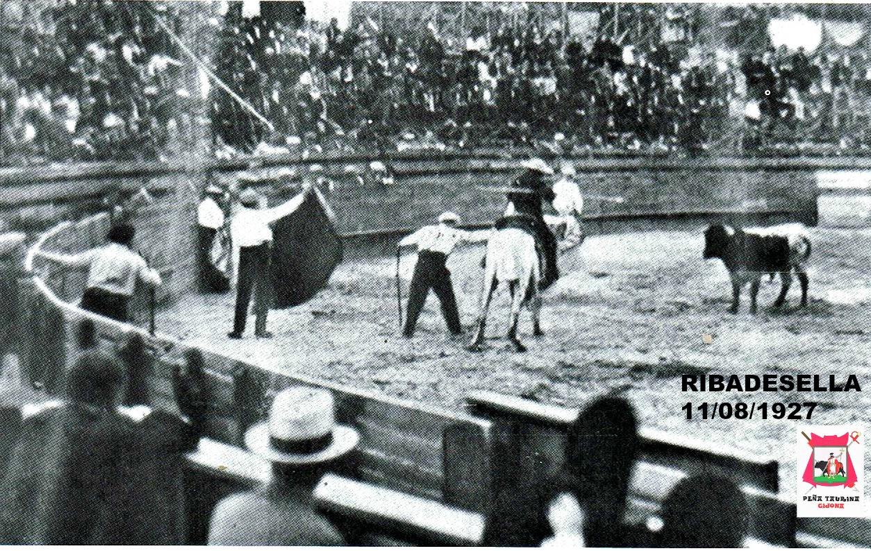 RIBADESELLA TOROS 1927