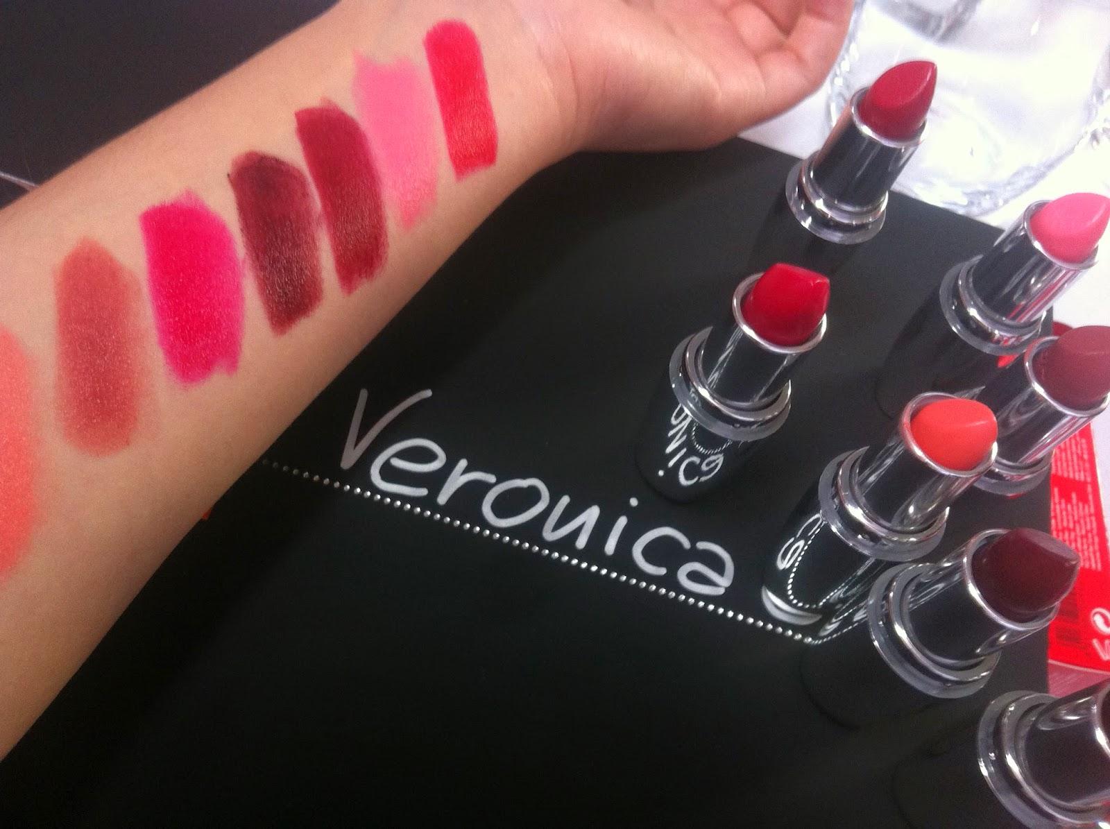PUPA rossetti I'M Lipstick swatches 308 309 405