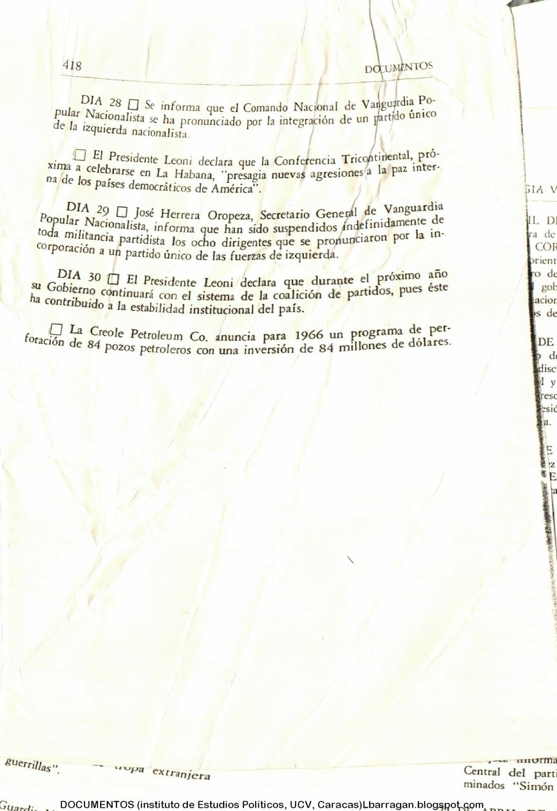 Luis Barragán, apuntística: CRONOLOGÍA 1965
