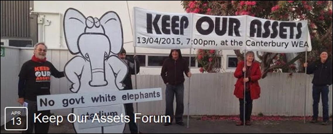 <b>Keep Our Assets - <i>Public Forum</i></b>