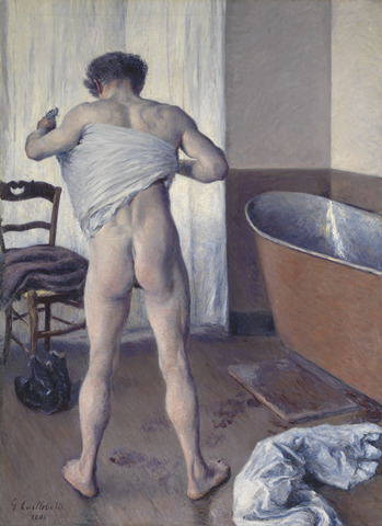 Gustave Caillebotte's Man at His Bath ...
