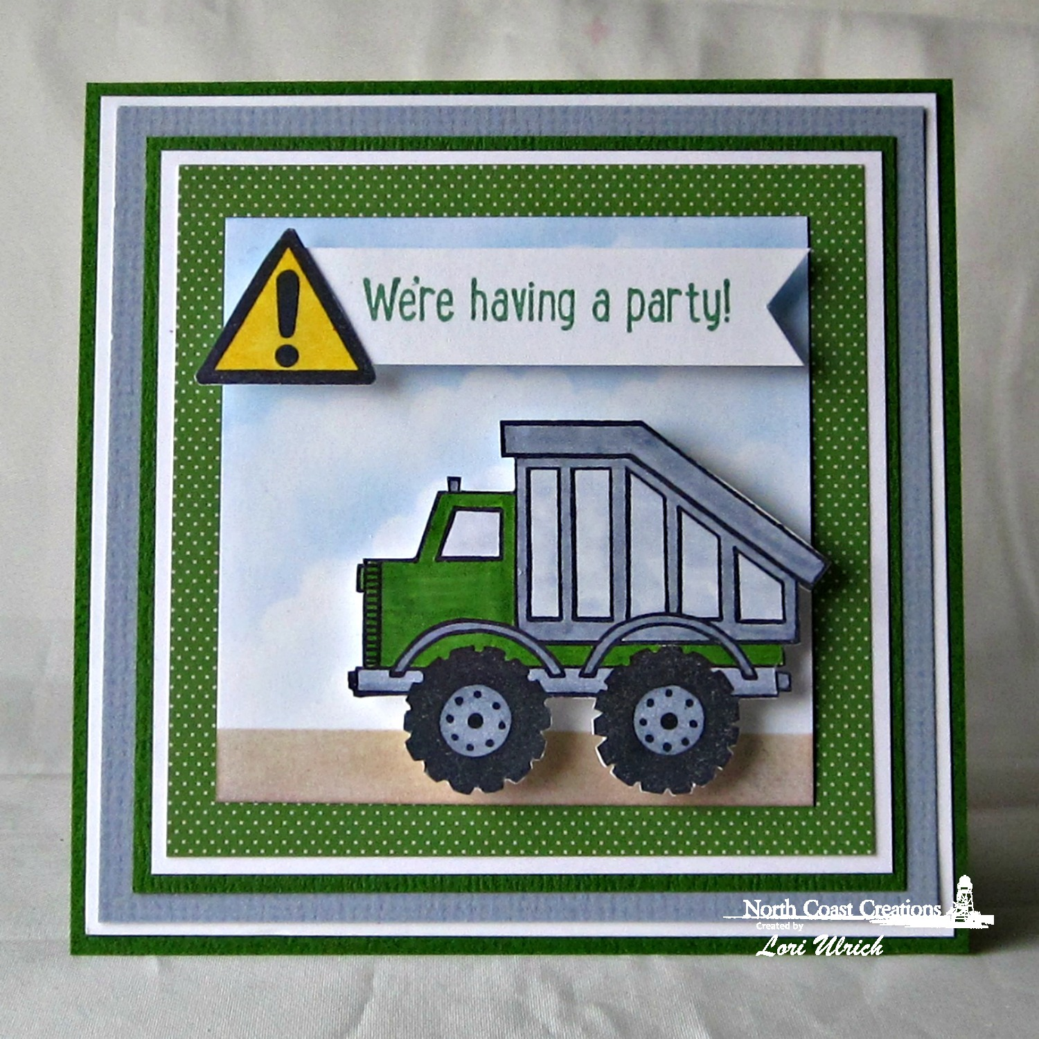 Stamps - North Coast Creations Dump Truck Birthday