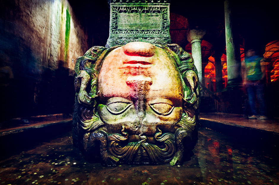 basilica cistern yerebatan sarayi museum in istanbul