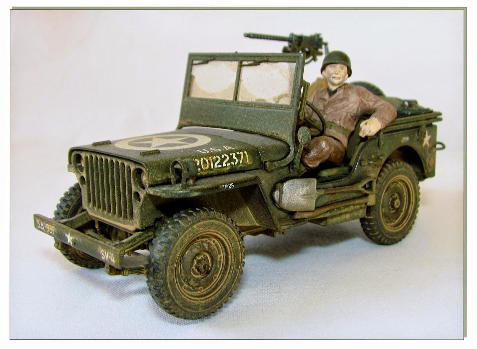 en mod le r duit jeep willys mb ech 1 35 tamiya. Black Bedroom Furniture Sets. Home Design Ideas