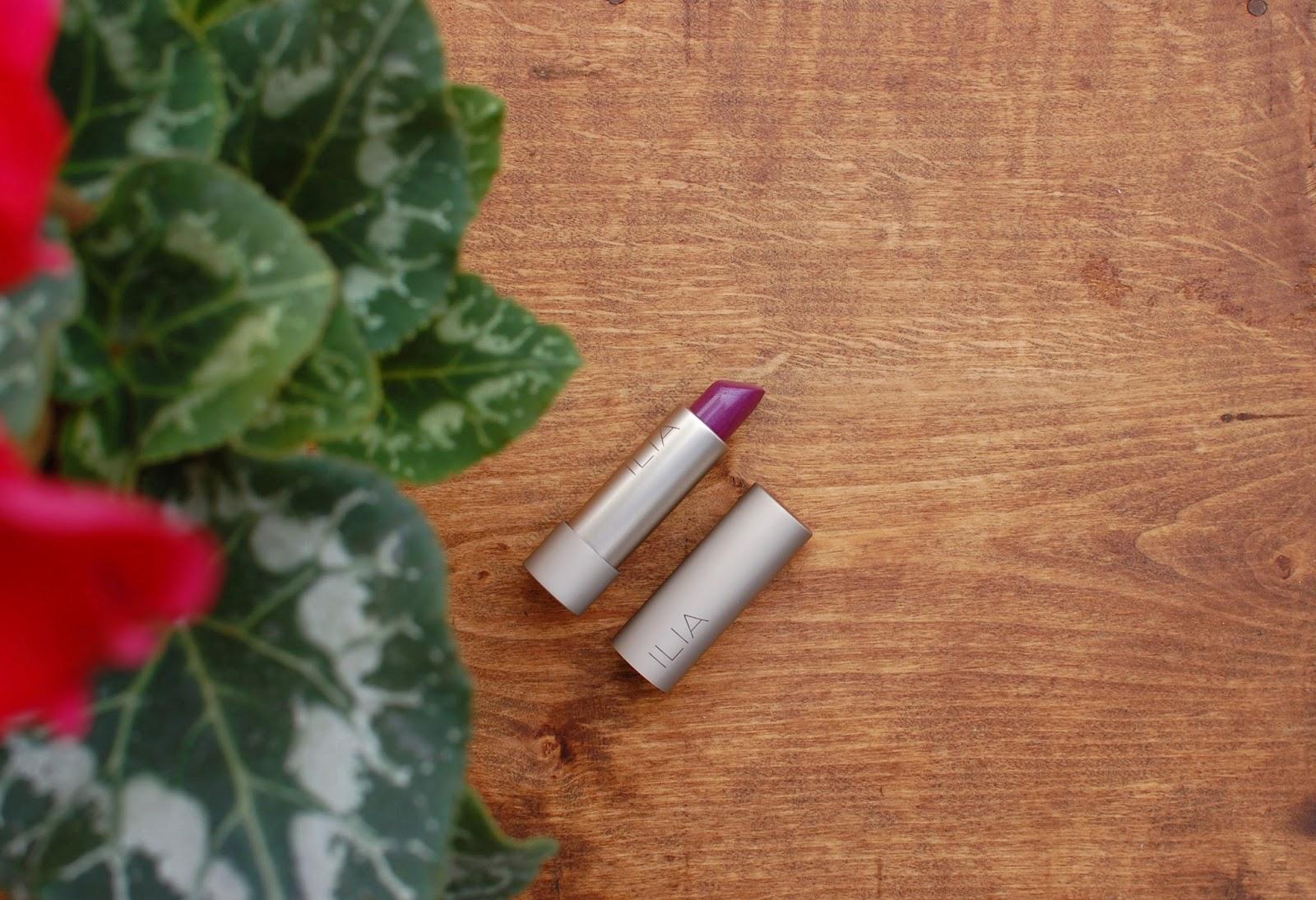 Ilia Beauty Lipstick shade Ink Pot