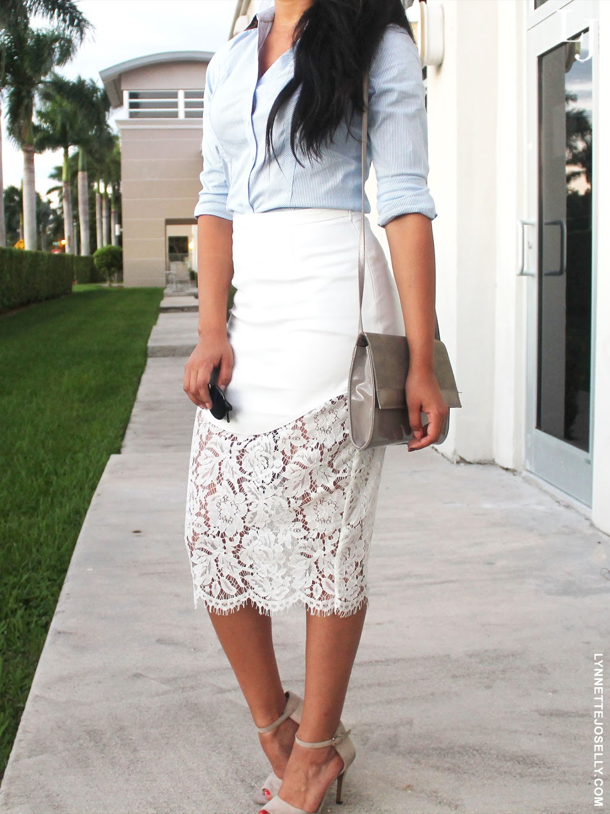 white-lace-skirt-outfit