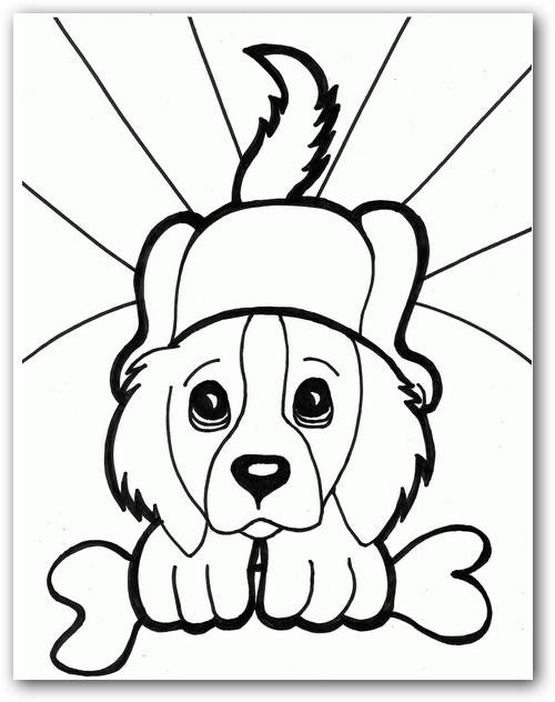 Dibujos de perros  Dibujos para Colorear