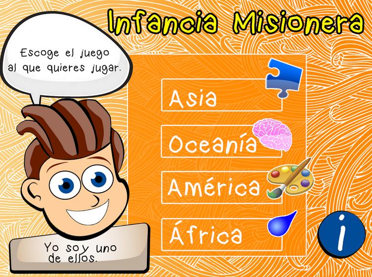 Aplicación dispositivos móviles de la Infancia Misionera
