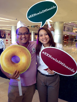 #KKnowinSMSeaside, Krispy Kreme Doughnuts, Krispy Kreme SM Seaside City, SM Seaside City, Original Glazed, Krispy Kreme Philippines, Ariane Valinton