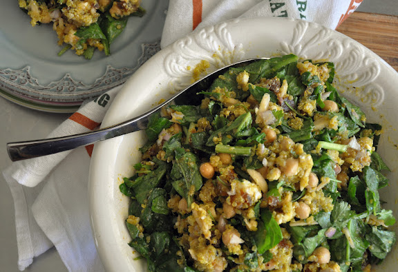 Recipe: Quinoa spinach salad