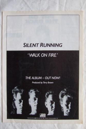 Rock On Vinyl Silent Running Walk On Fire 1987