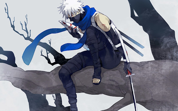kakashi anbu mask uniform sharingan anime hd wallpaper 1440x900