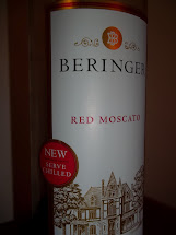 Beringer Red Moscato Wine