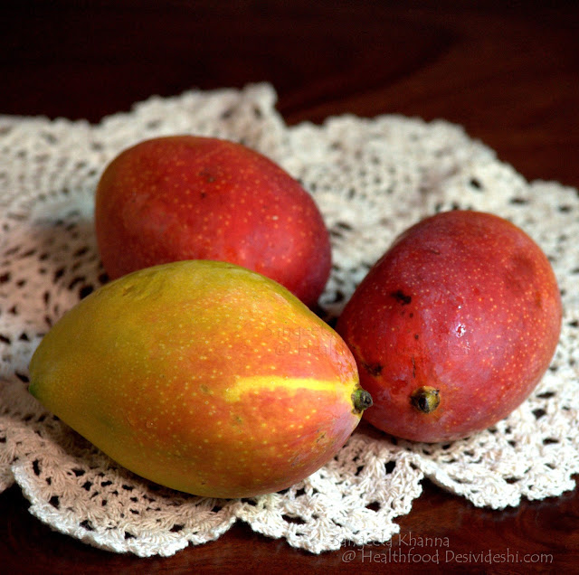 naturally ripened mangoes