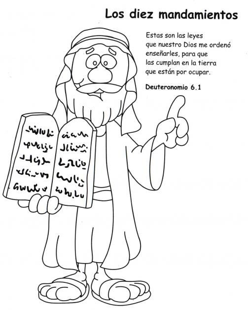 ME ABURRE LA RELIGIÓN: ACTIVIDADES. LOS DIEZ MANDAMIENTOS