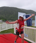 Kate finishes the Half IM 2010