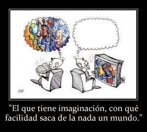 LOS LIBROS APORTAN IMAGINACIÓN