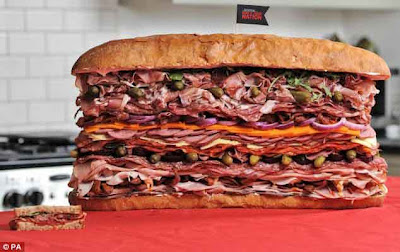 meatiest sandwich in the world