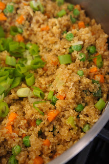 Quinoa Fried Rice: Savory Sweet and Satisfying