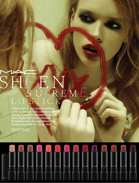 Coleção Sheen Supreme MAC