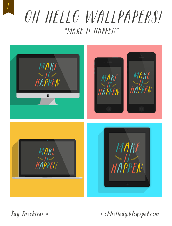 Wallpapers from Oh Hello Dy! iPhone iPad iPad iMac