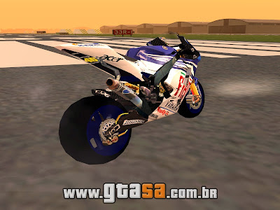 Yamaha M1 VR46 The Doctor para GTA San Andreas