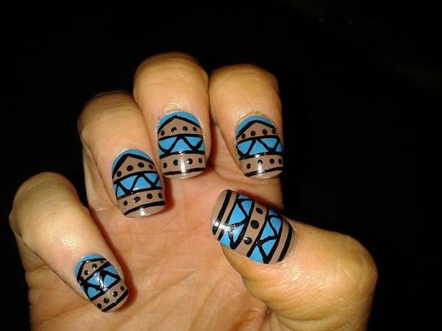 artzeenailz aztec nails