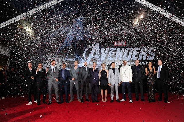 The Avengers Premiere: Full Cast