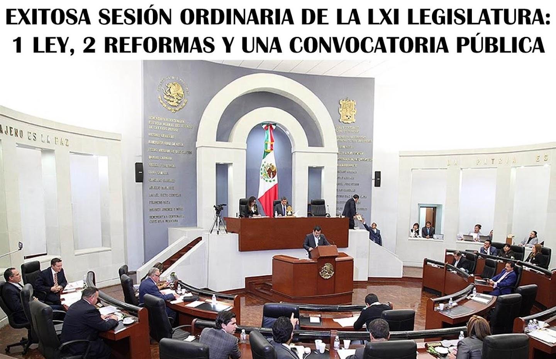 LXI LEGISLATURA DE SAN LUIS POTOSÍ: ACUERDOS A TU FAVO.