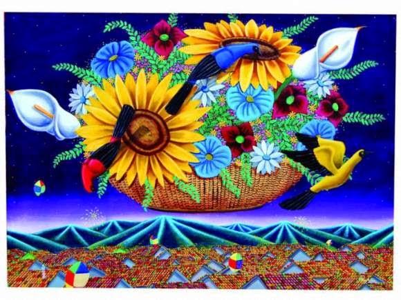 karya seni lukis impressionisme Alejandro Pinzon Artwork