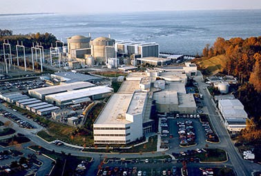 Calvert Cliffs nuclear power plant in southern Maryland. Will there be a next generation of nuclear power in the United States? (Credit: Nuclear Regulatory Commission) Click to enlarge.