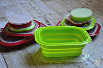 Silicone Food Storage Set