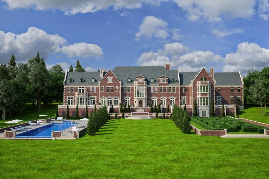 Large mansion for sale in mount kisco ny for 29 500 000 for Mansion plans for sale