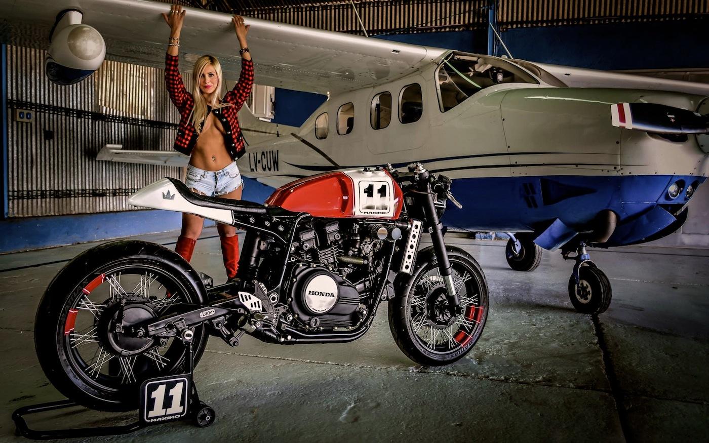 Vf750 By Lucky Custom Inazuma Caf 233 Racer
