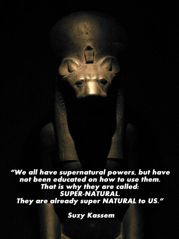 we are all supernatural - suzy kassem